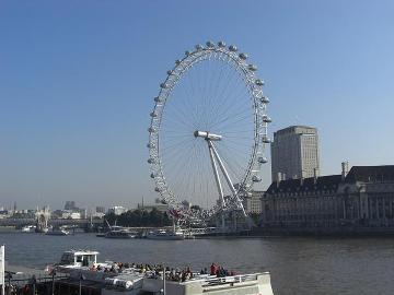 ロンドン・アイ全景