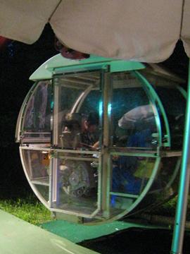 透明ゴンドラ